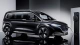 Near-production Mercedes-Benz EQT concept previews new T-Class van coming in 2022