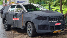Jeep Meridian 7-seater SUV spied testing in India ahead of early-2022 launch