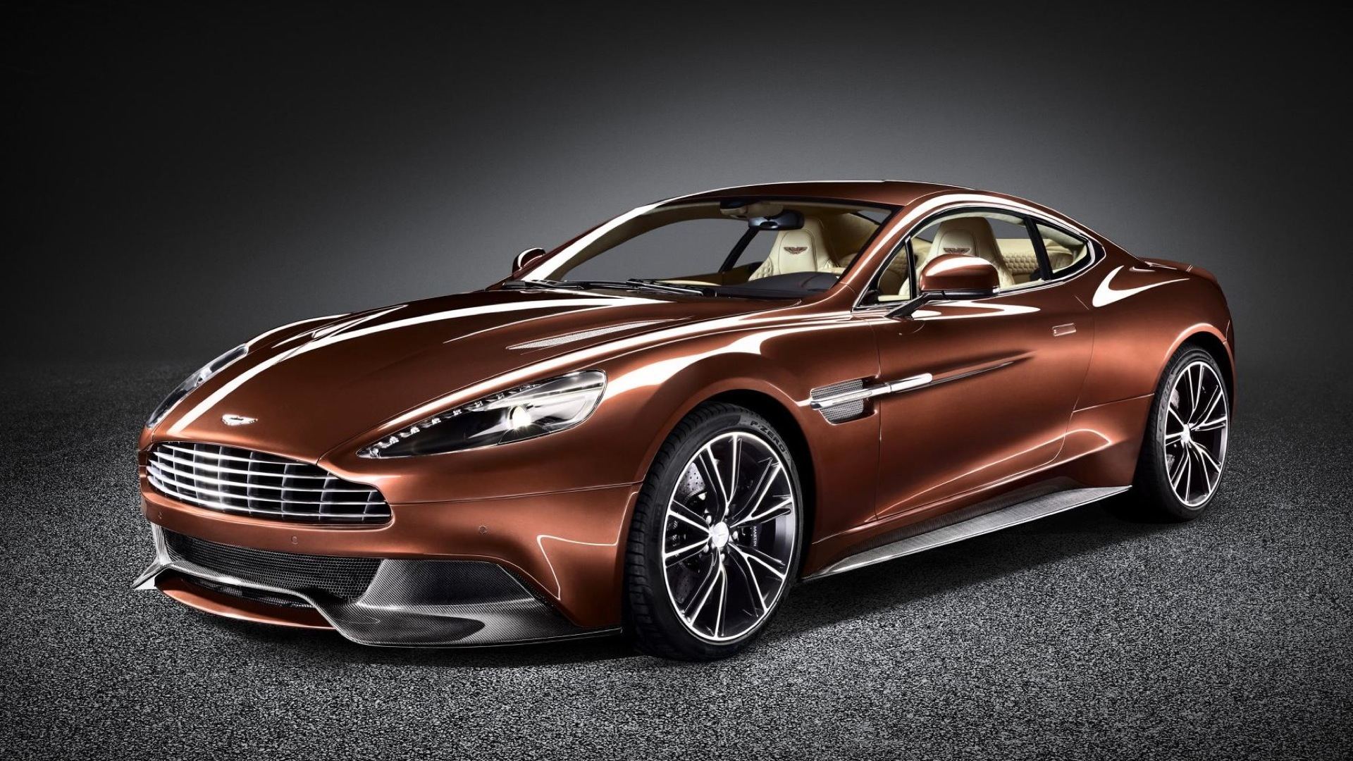 Aston Martin Vanquish 2013 STD