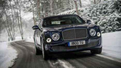 Bentley Mulsanne 2013 Speed