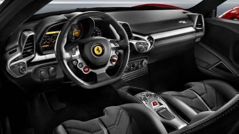 Ferrari  458 Italia 2013 STD Interior