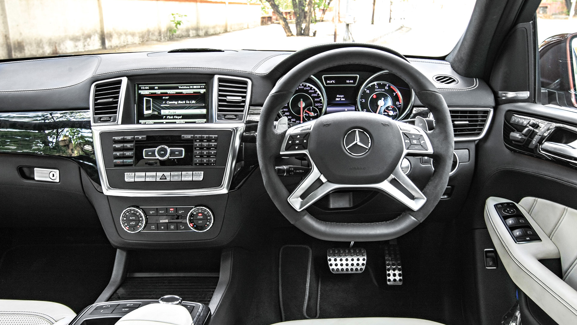 mercedes benz ml interior 2017. Black Bedroom Furniture Sets. Home Design Ideas