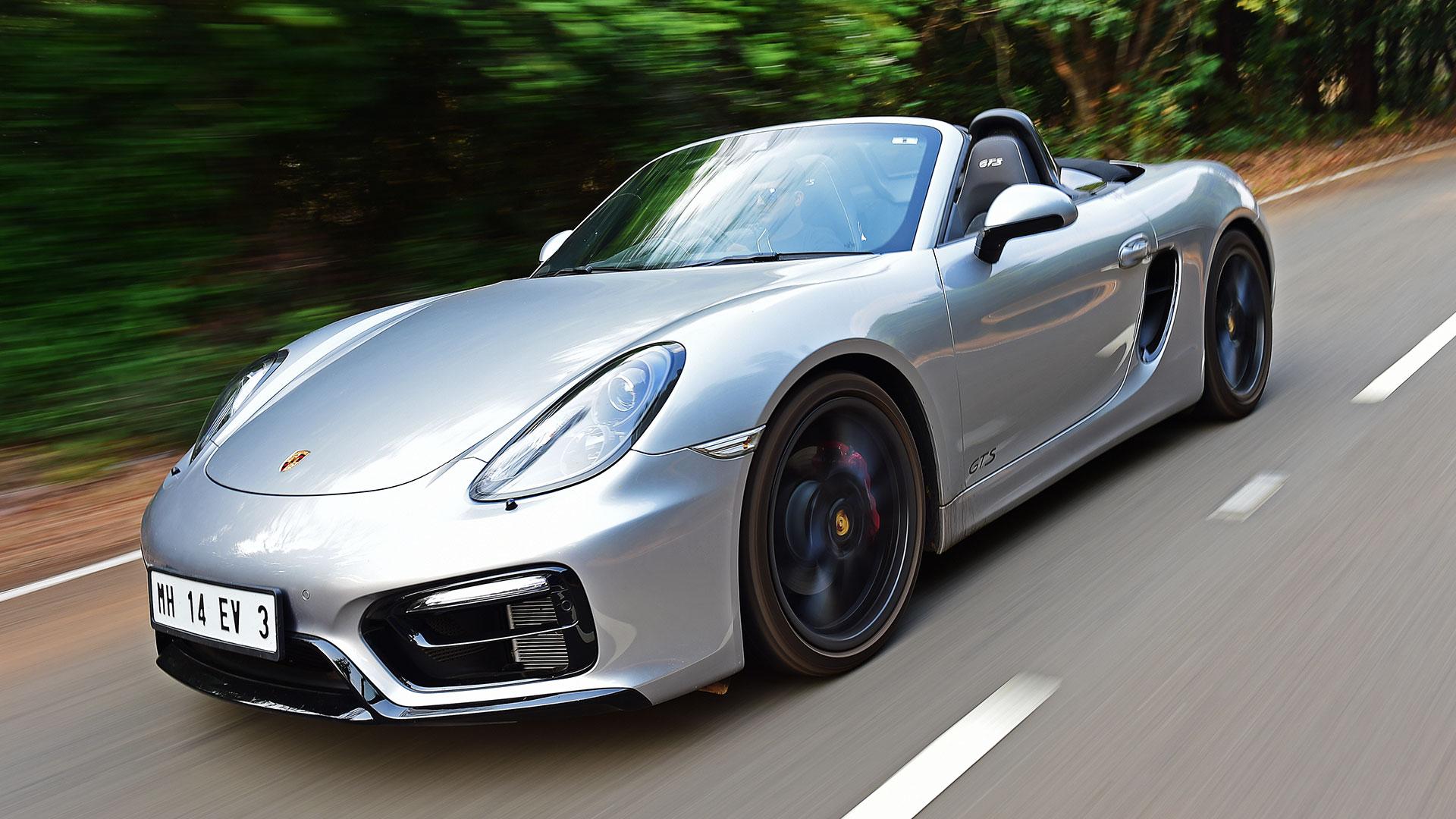 Porsche Boxster 2016 GTS