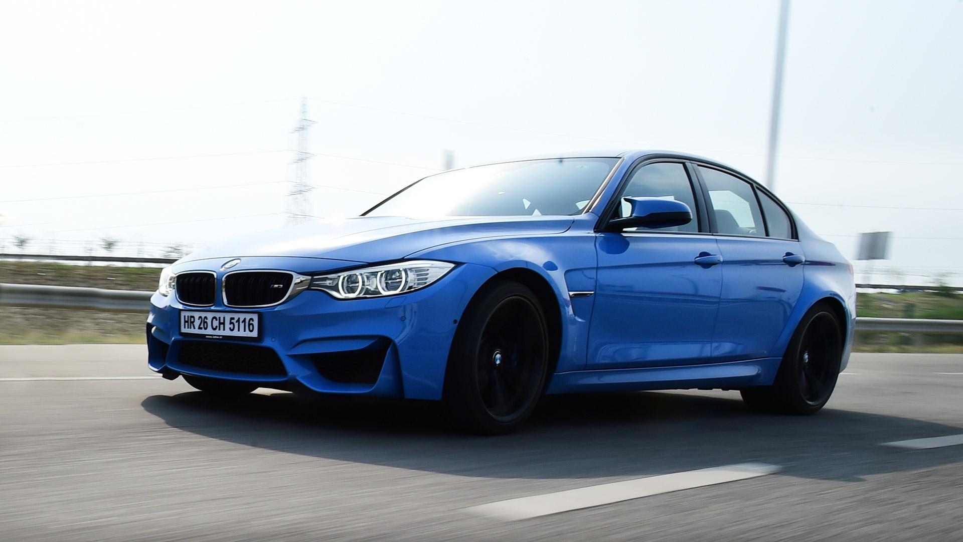 BMW M3 sedan 2015 STD