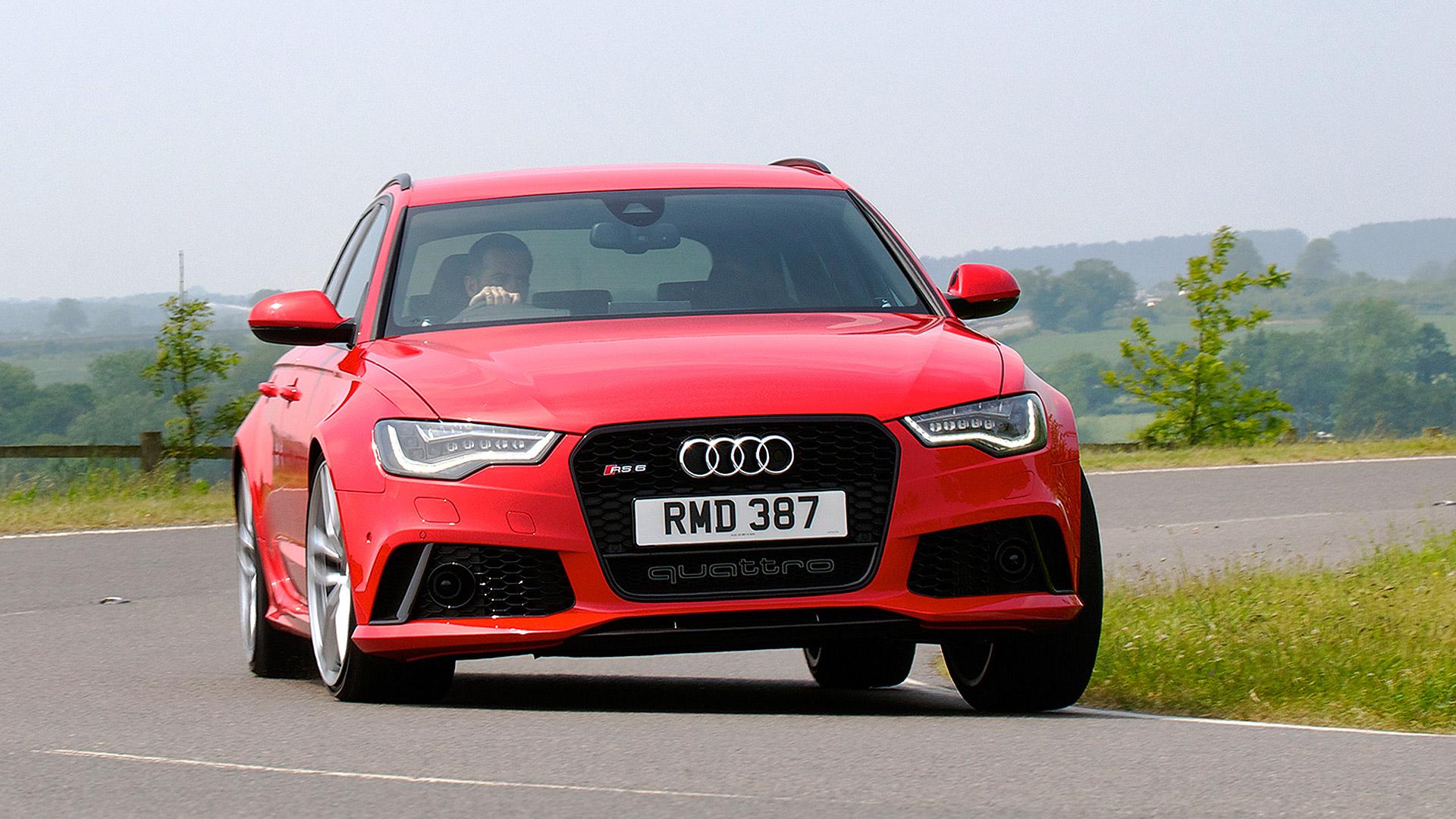 Audi RS 6 Avant 2015 STD
