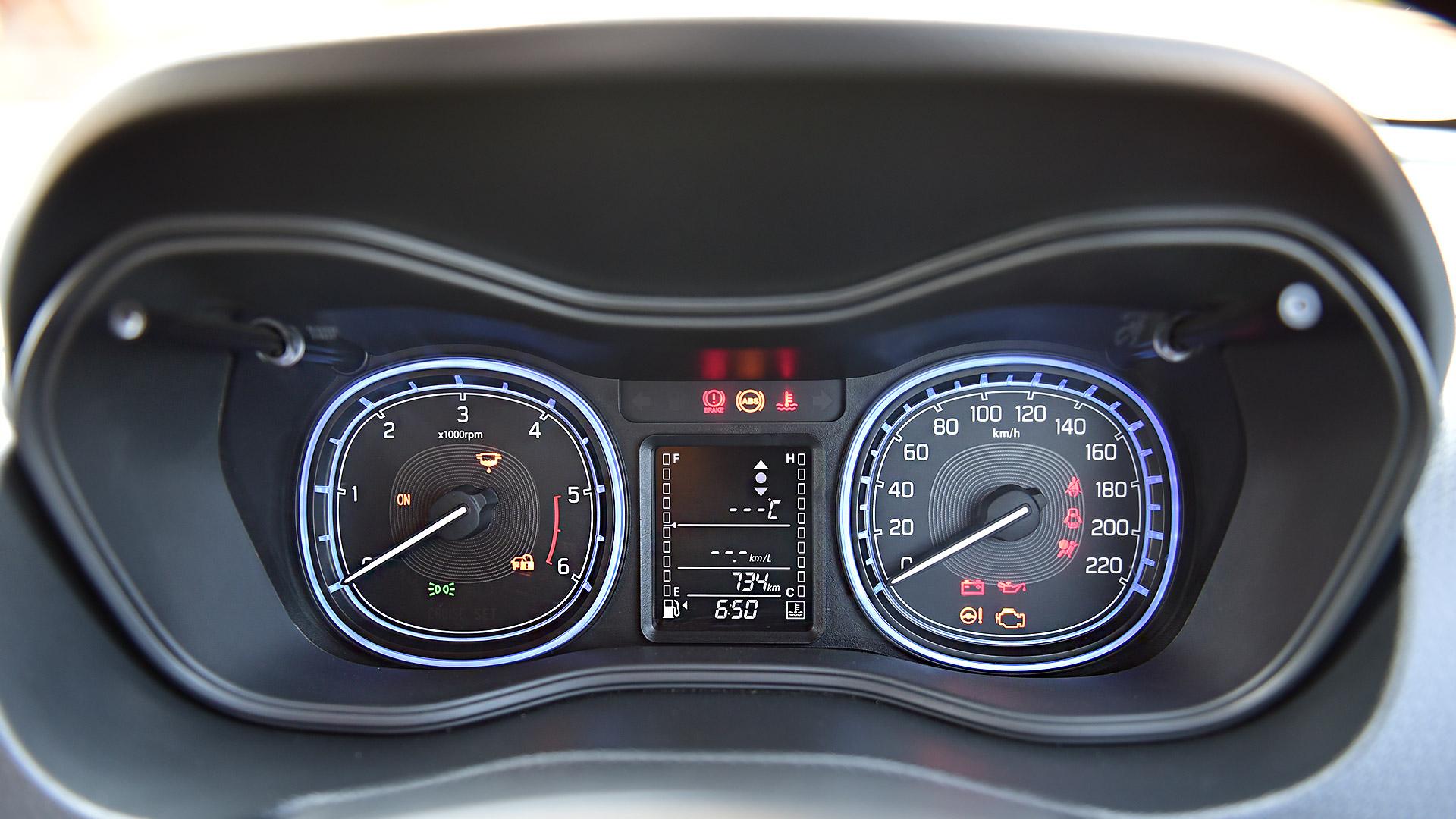 Maruti Suzuki Vitara Brezza 2016 ZDi Interior