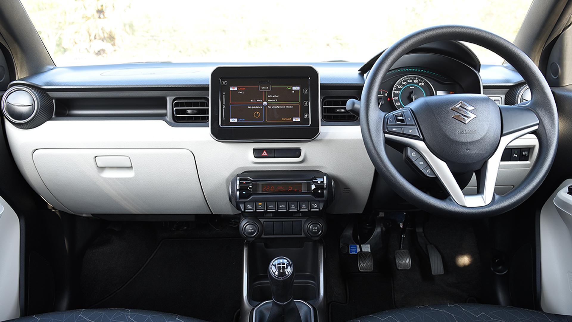 maruti suzuki ignis 2017 alpha petrol interior car photos. Black Bedroom Furniture Sets. Home Design Ideas