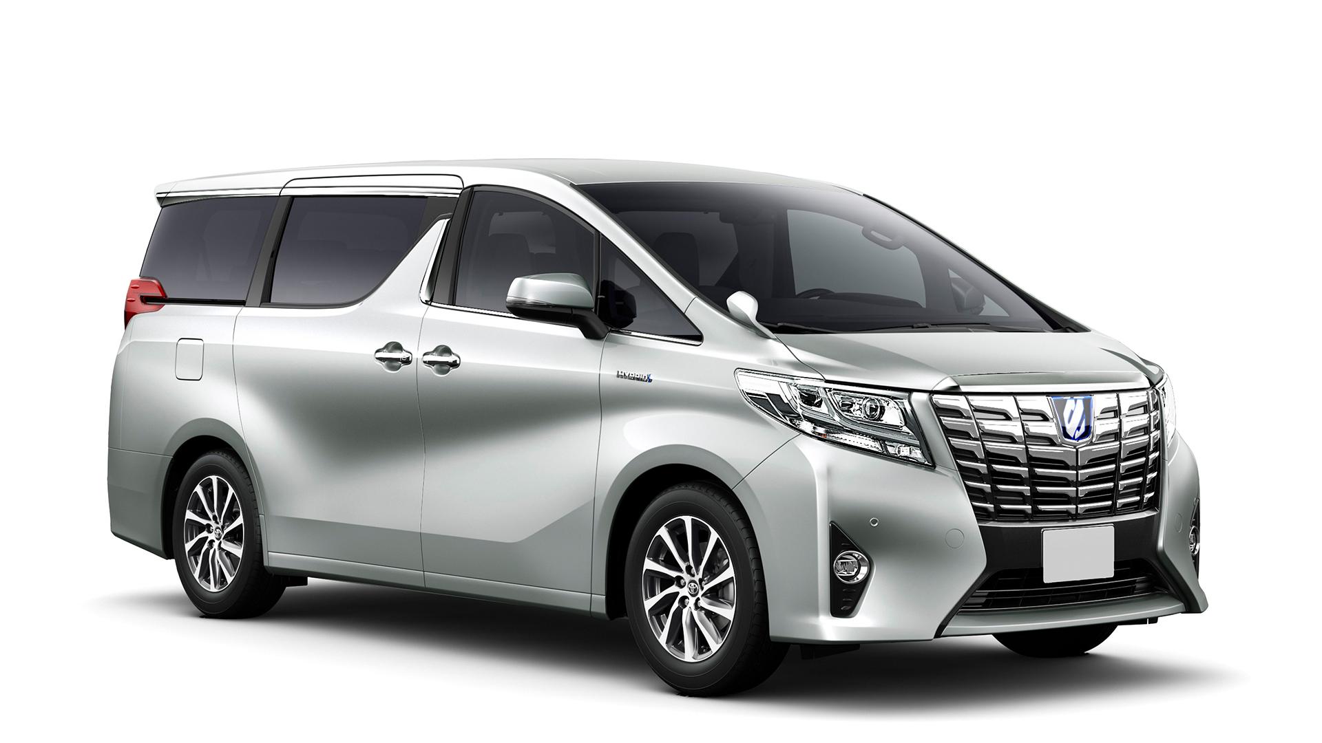 Toyota Alphard 2017 Petrol Std