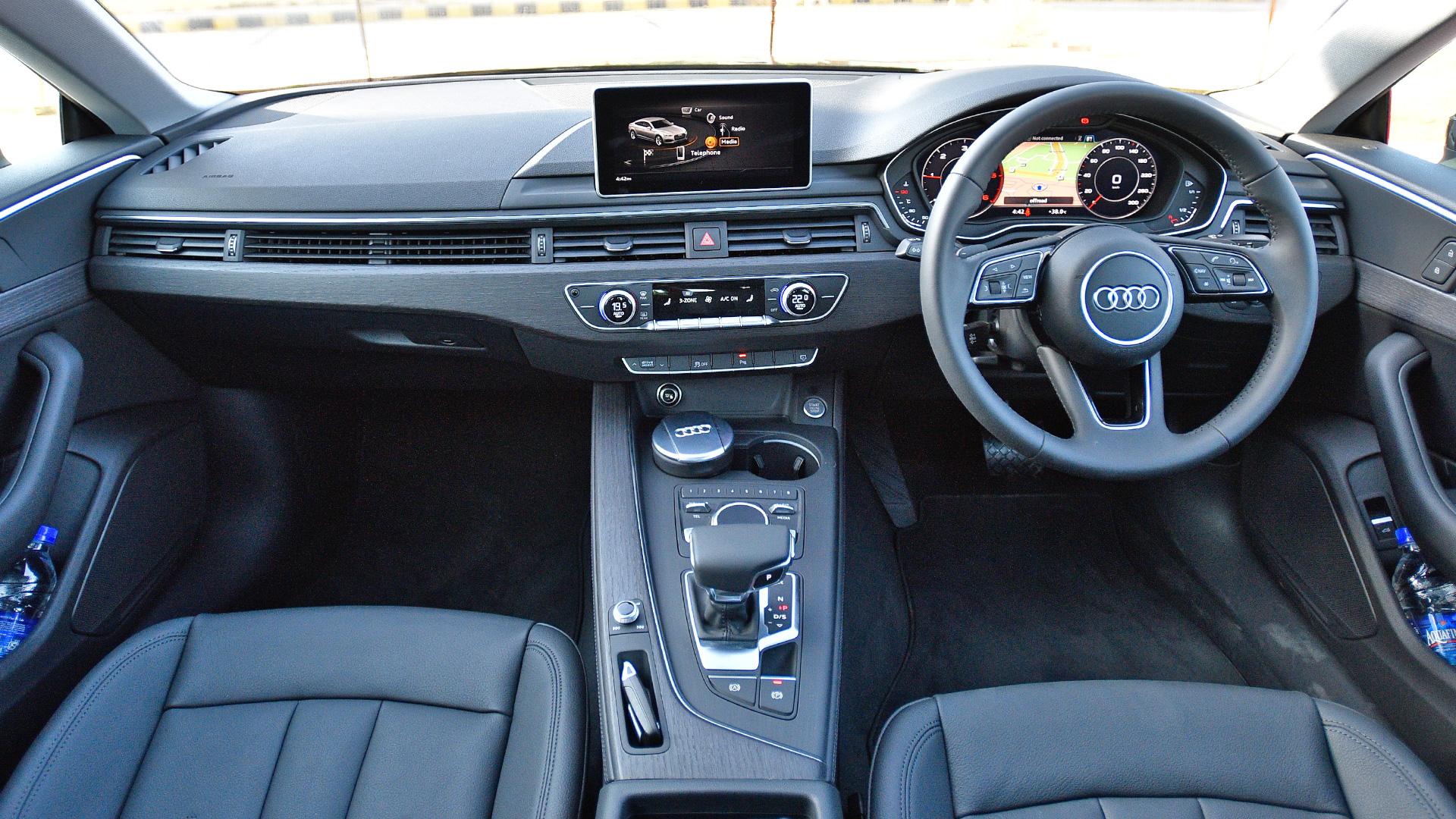 Audi a5 interior 2017