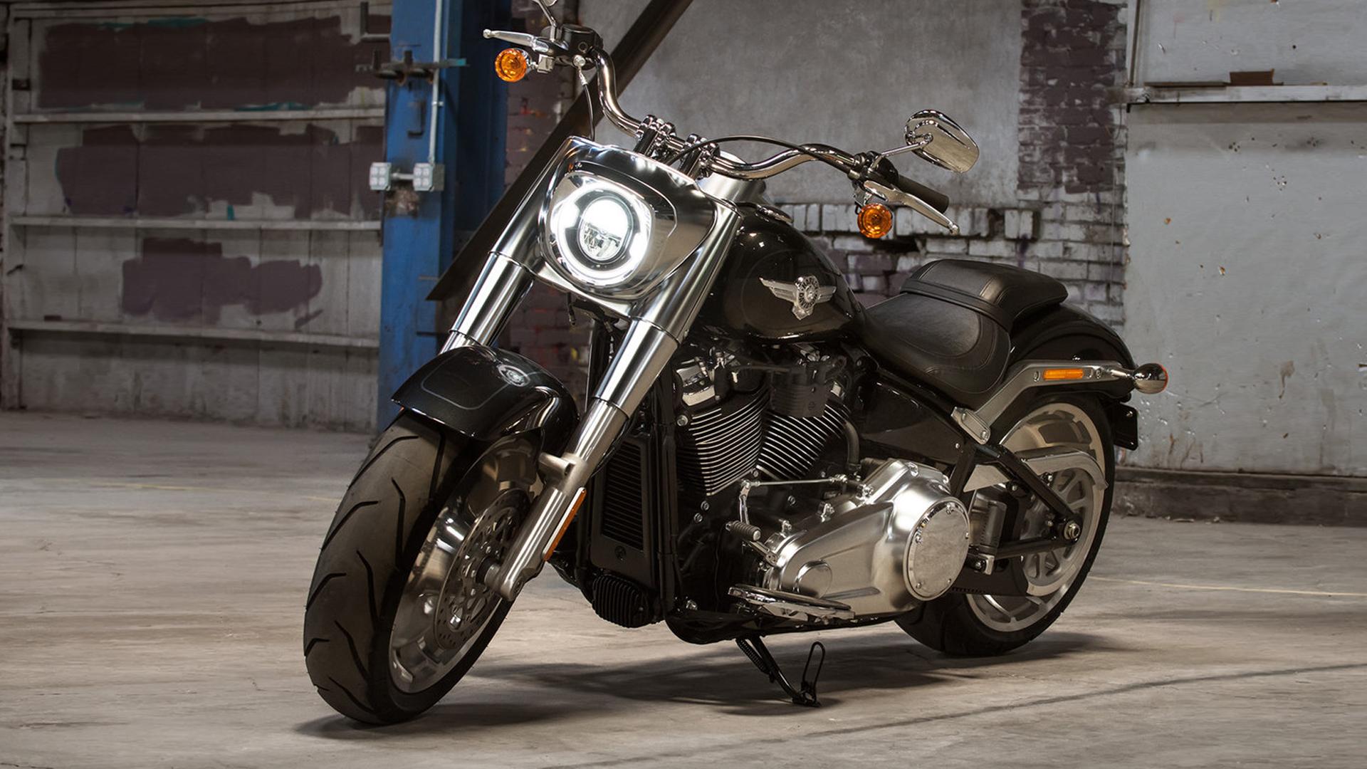 Harley-Davidson Fat Boy 2018 107