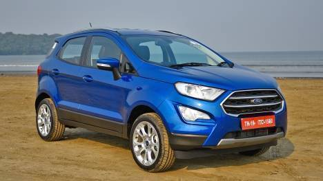 2018 Ford Ecosport S First Drive Review Overdrive