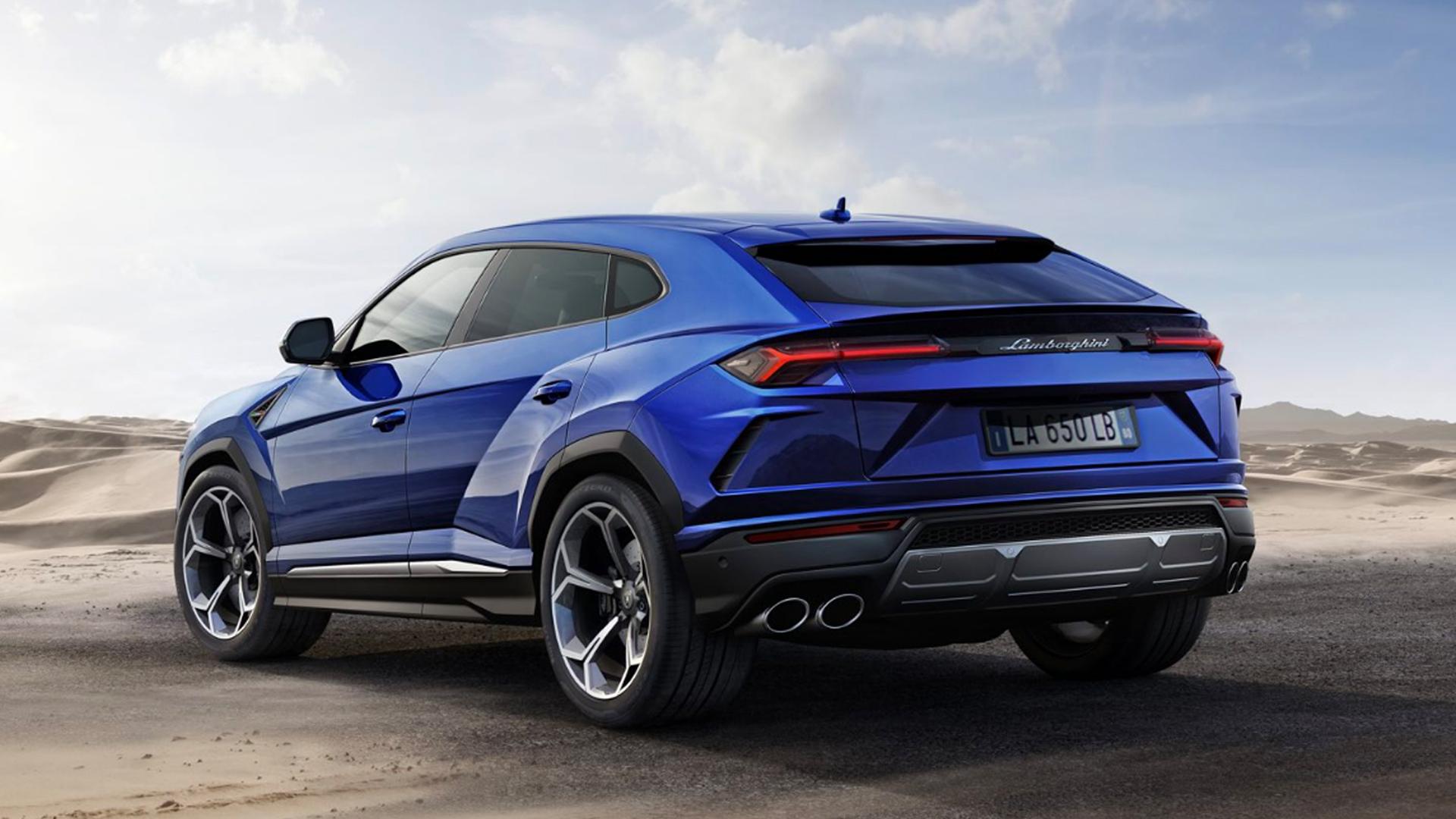 Lamborghini Urus 2018 STD Exterior