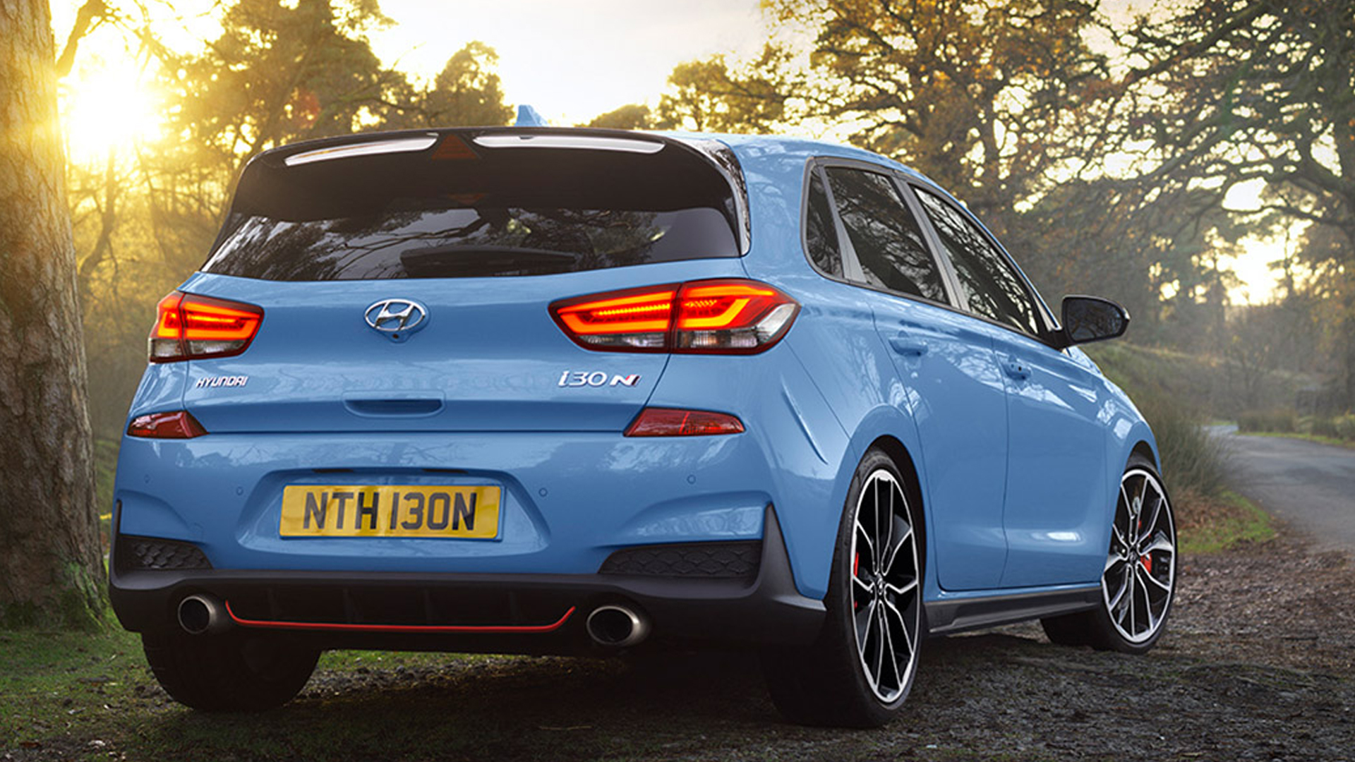 Hyundai i30 N 2018 1 6l Petrol Rear three quarter view