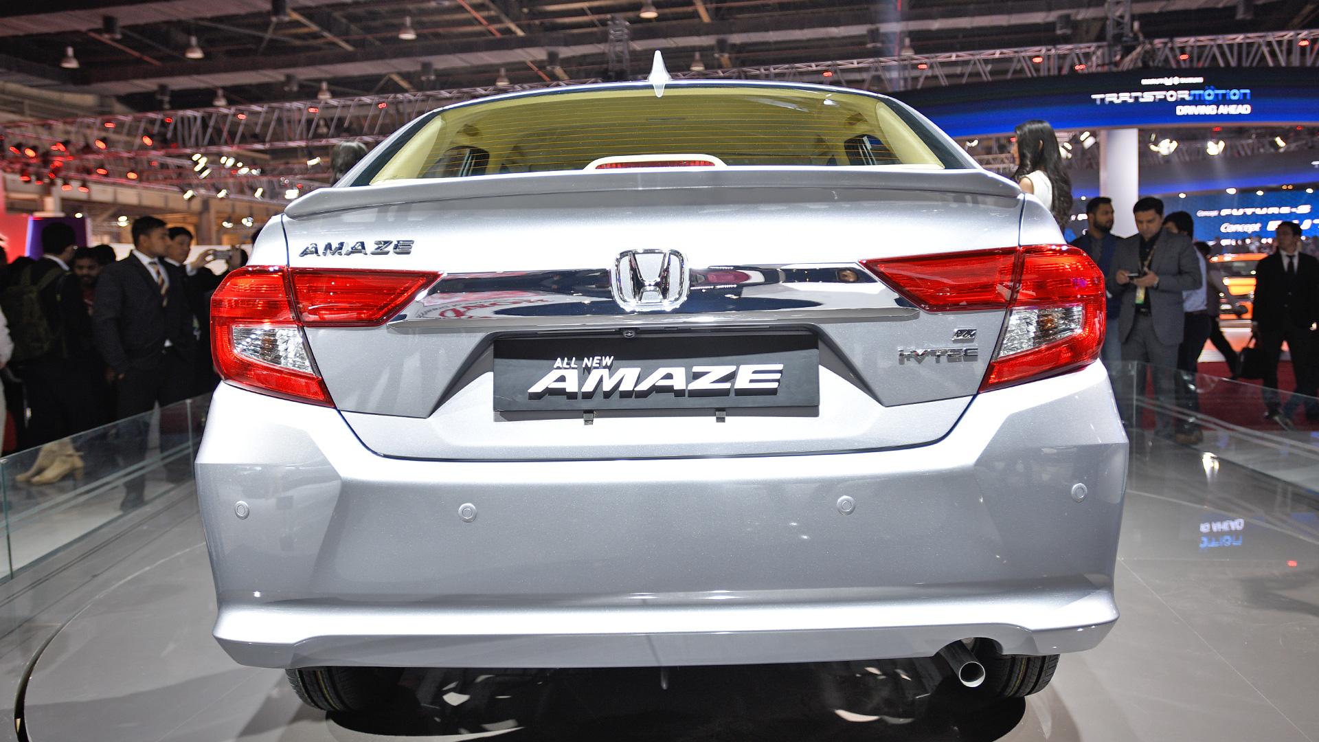 Honda Amaze 2019 S Cvt Price Mileage Reviews Specification