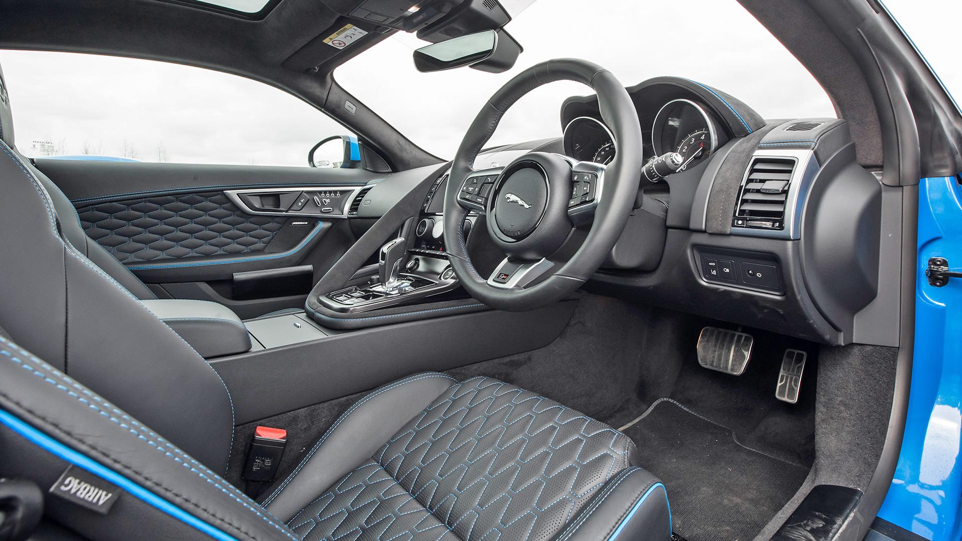 Jaguar F Type 2018 Svr Interior Car Photos Overdrive