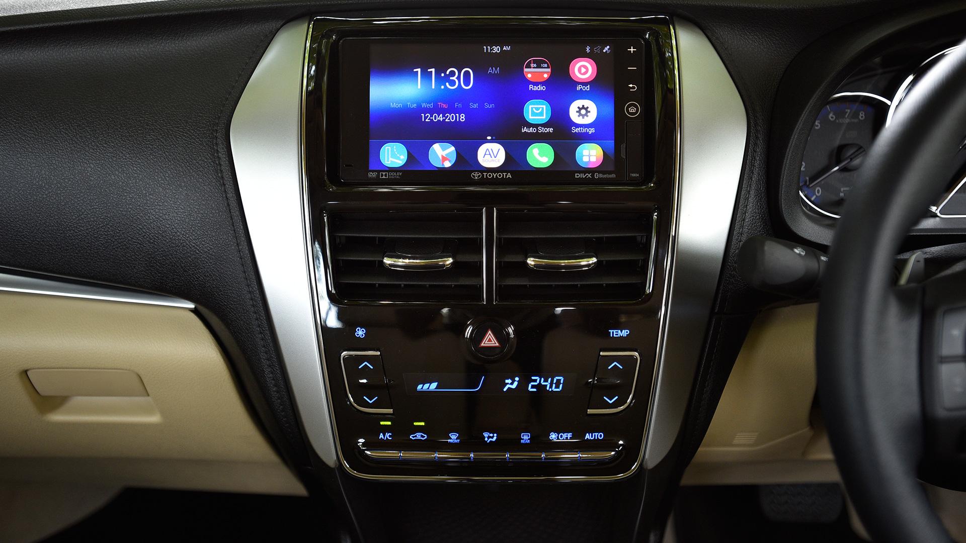 Toyota Yaris 2018 VX CVT Interior