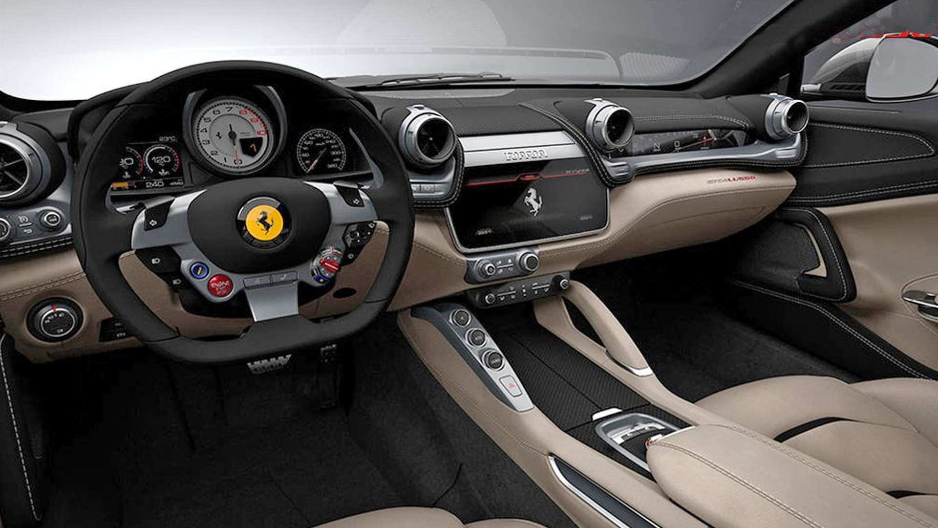 Ferrari Gtc4lusso 2017 Interior Car Photos Overdrive