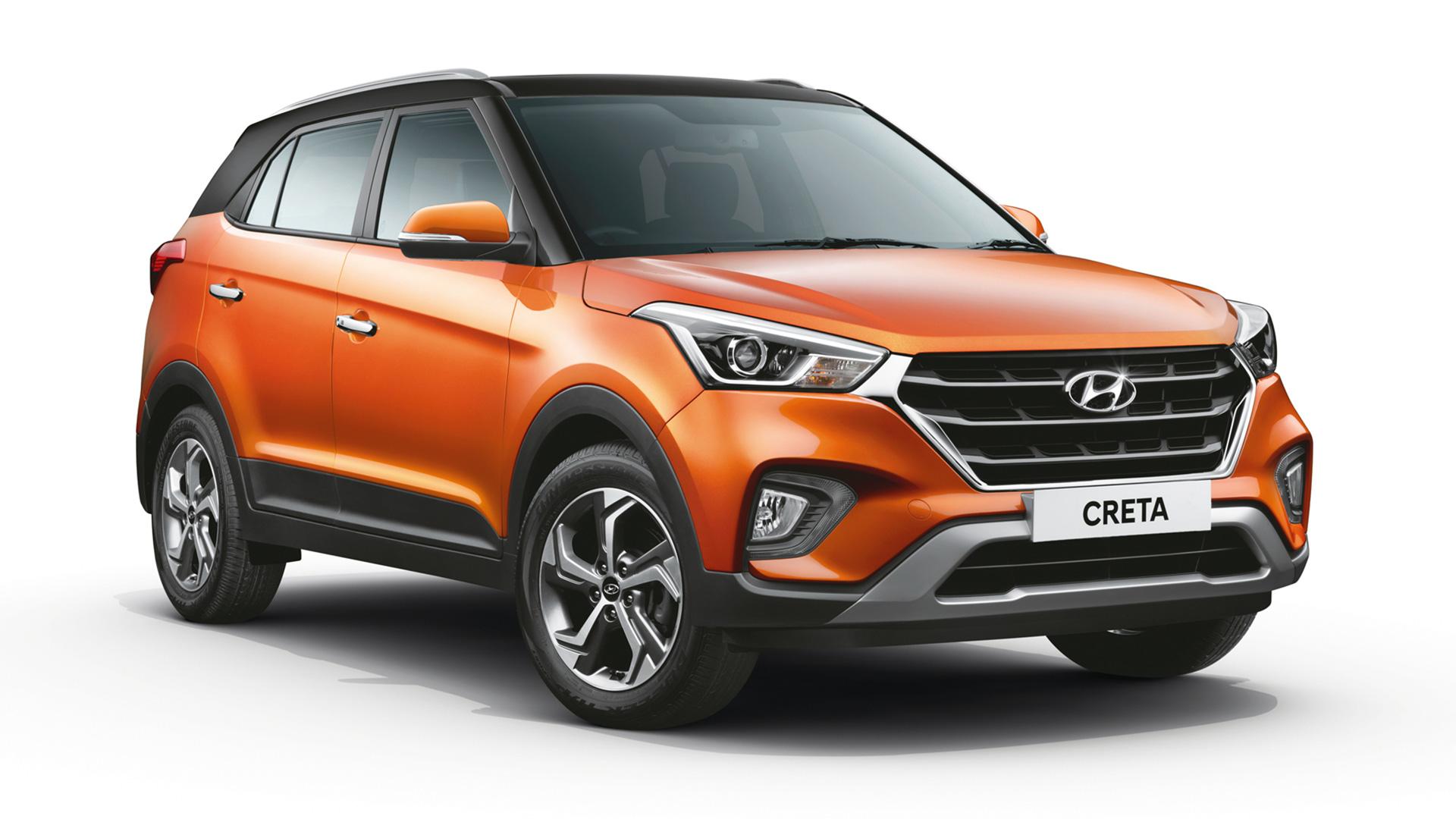 Hyundai Creta 2018 1.6 E+ petrol