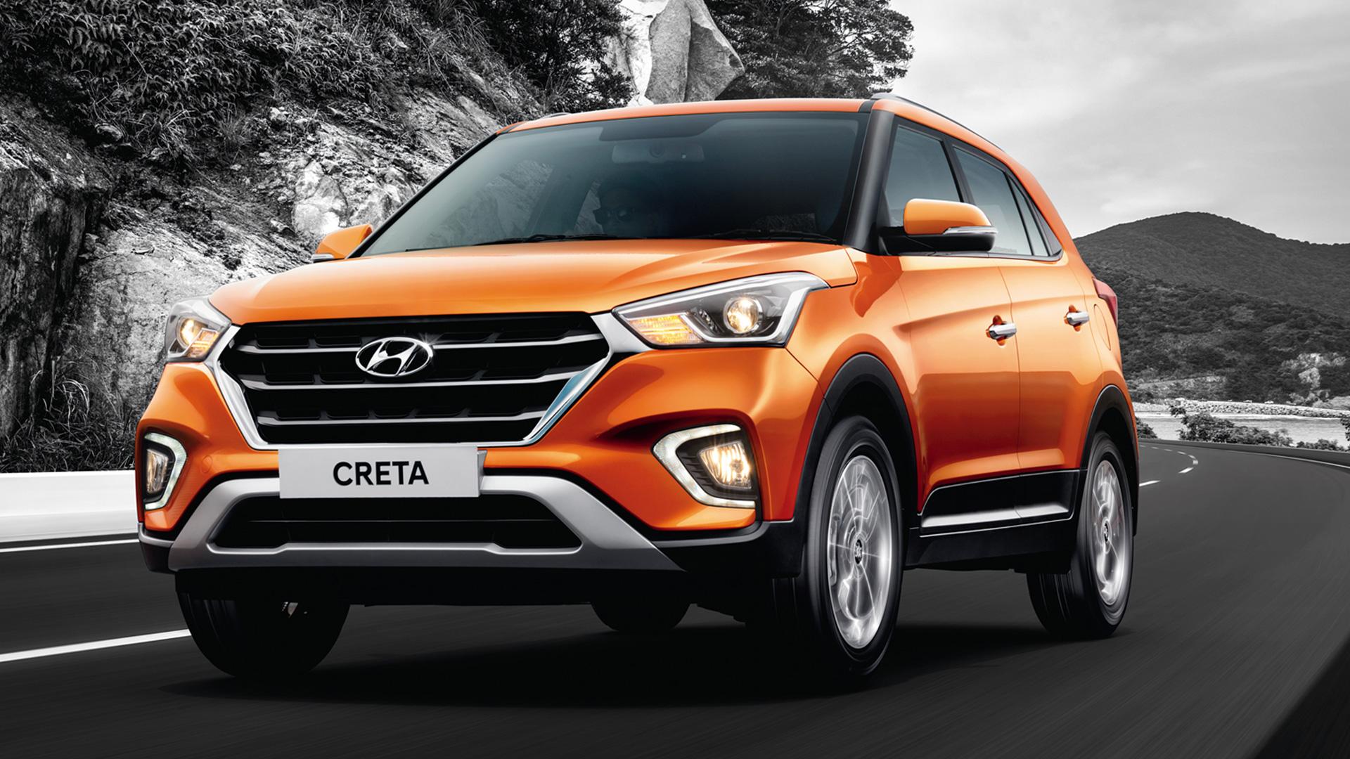 Hyundai Creta 2018 1.6 SX petrol Exterior