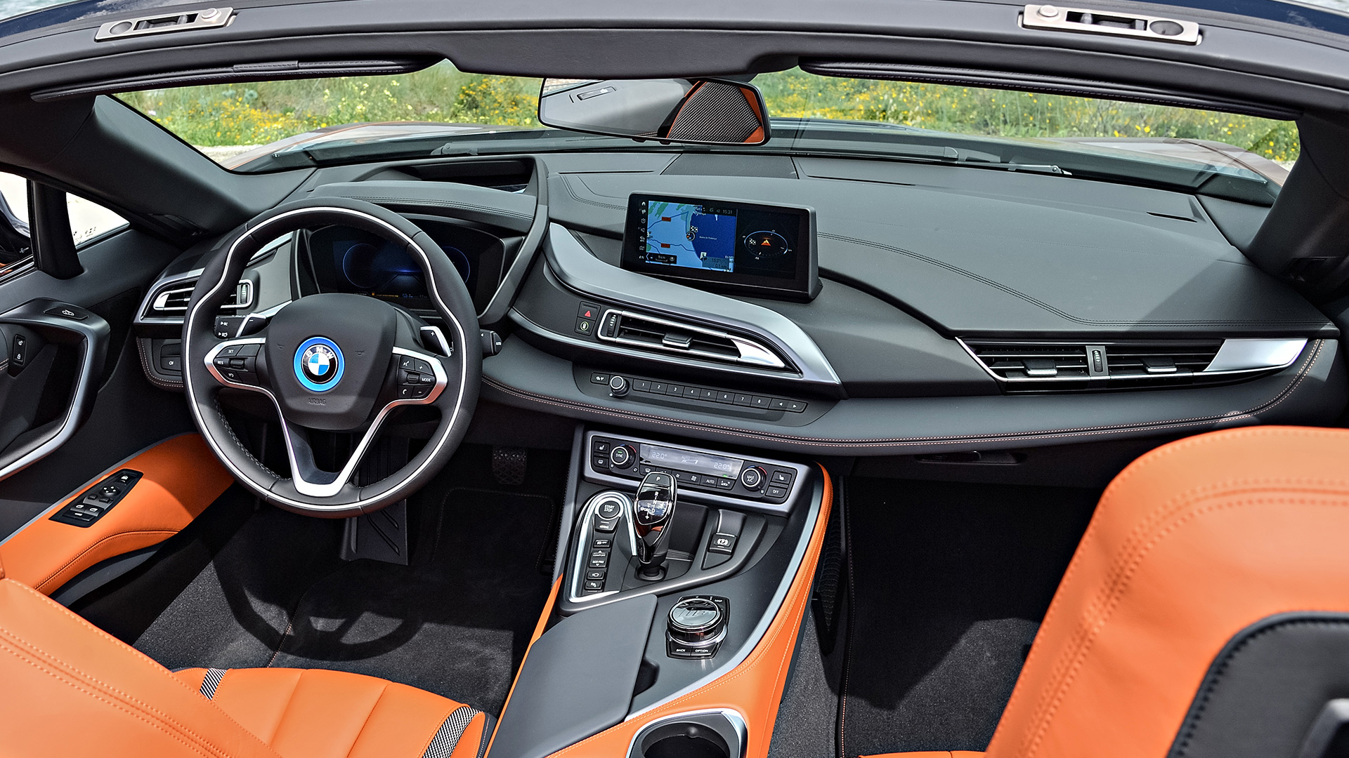 Bmw I8 2018 Roadster Interior Car Photos Overdrive