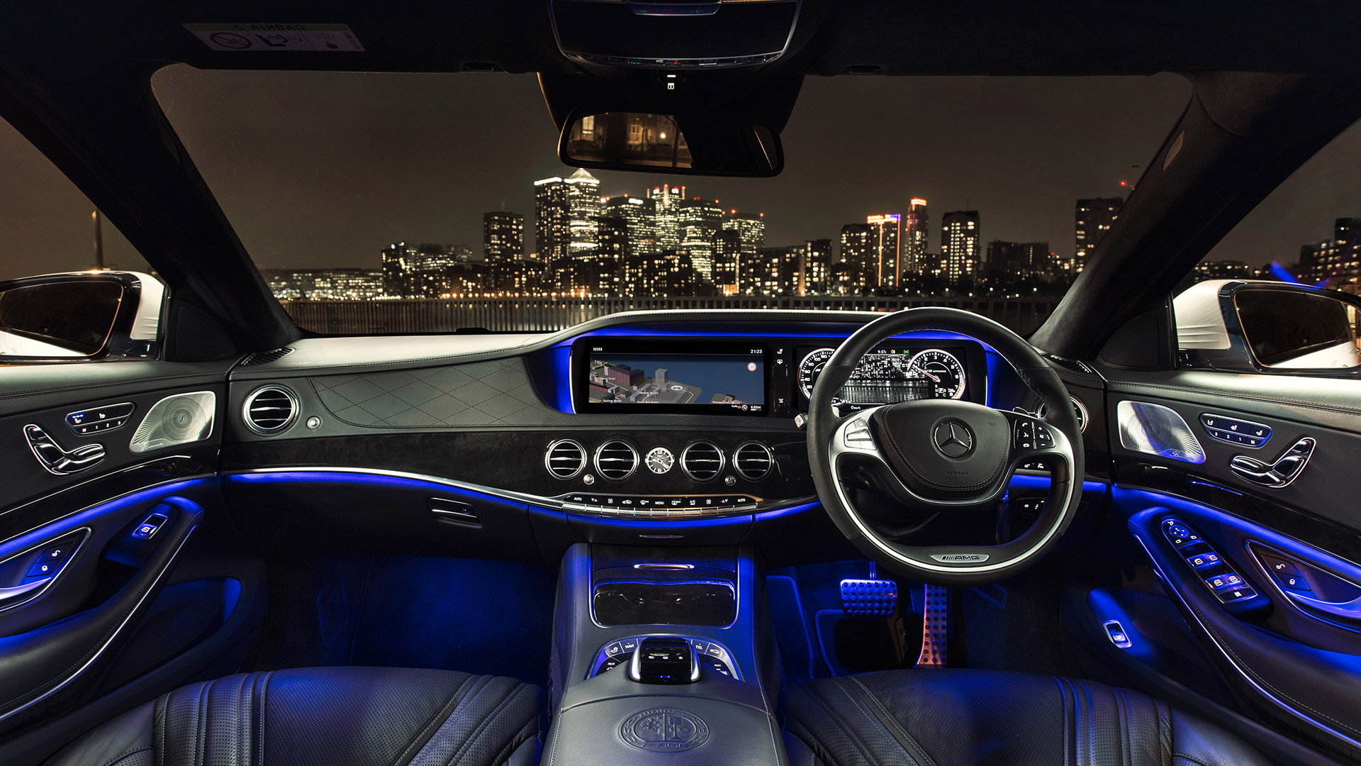 Mercedes benz S63 AMG coupe 2018 Dashboard