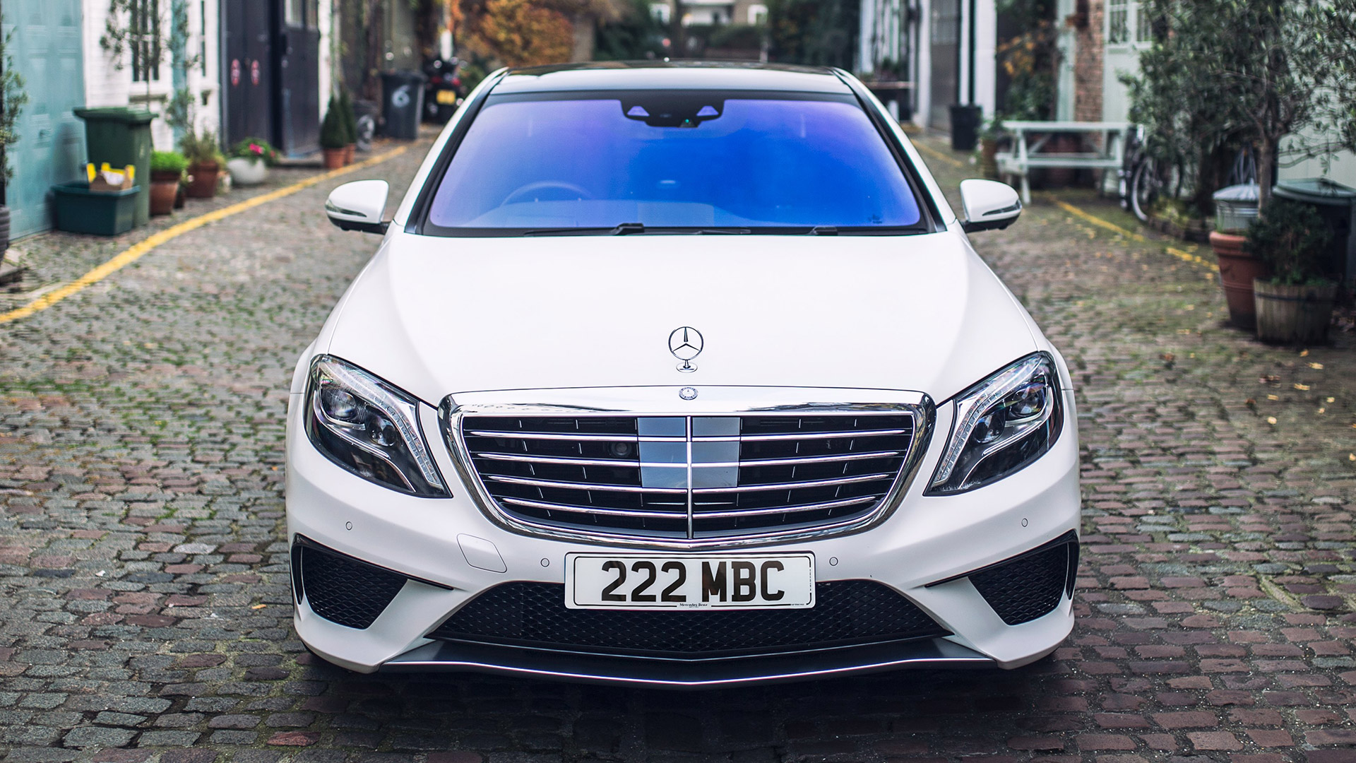Mercedes benz S63 AMG coupe 2018 Front view