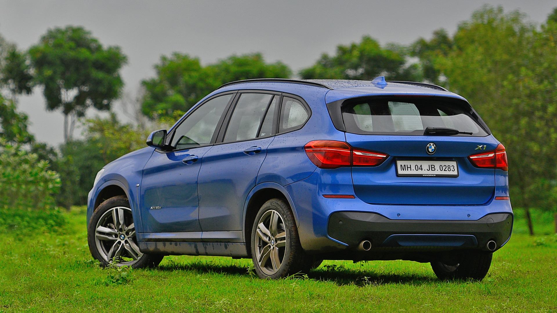BMW X1 2018 XDrive 20d M Sport Exterior Car Photos - Overdrive