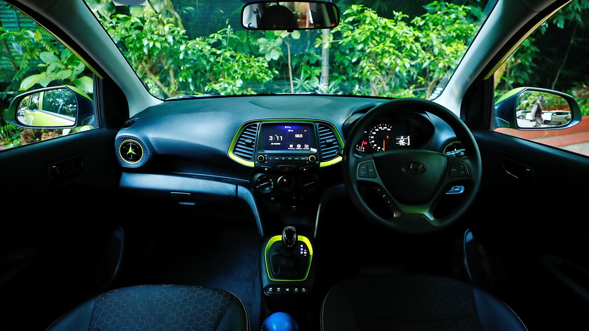 Hyundai Santro 2019 Asta Interior