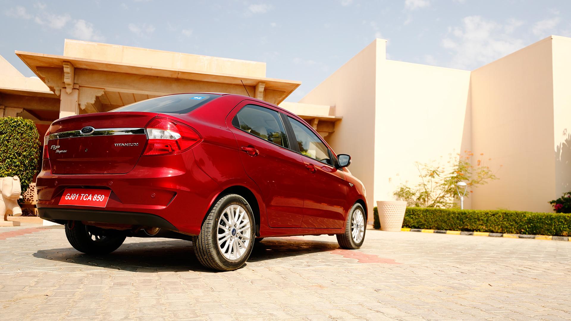 Ford Aspire 2018 Petrol 1.5AT Titanium Exterior
