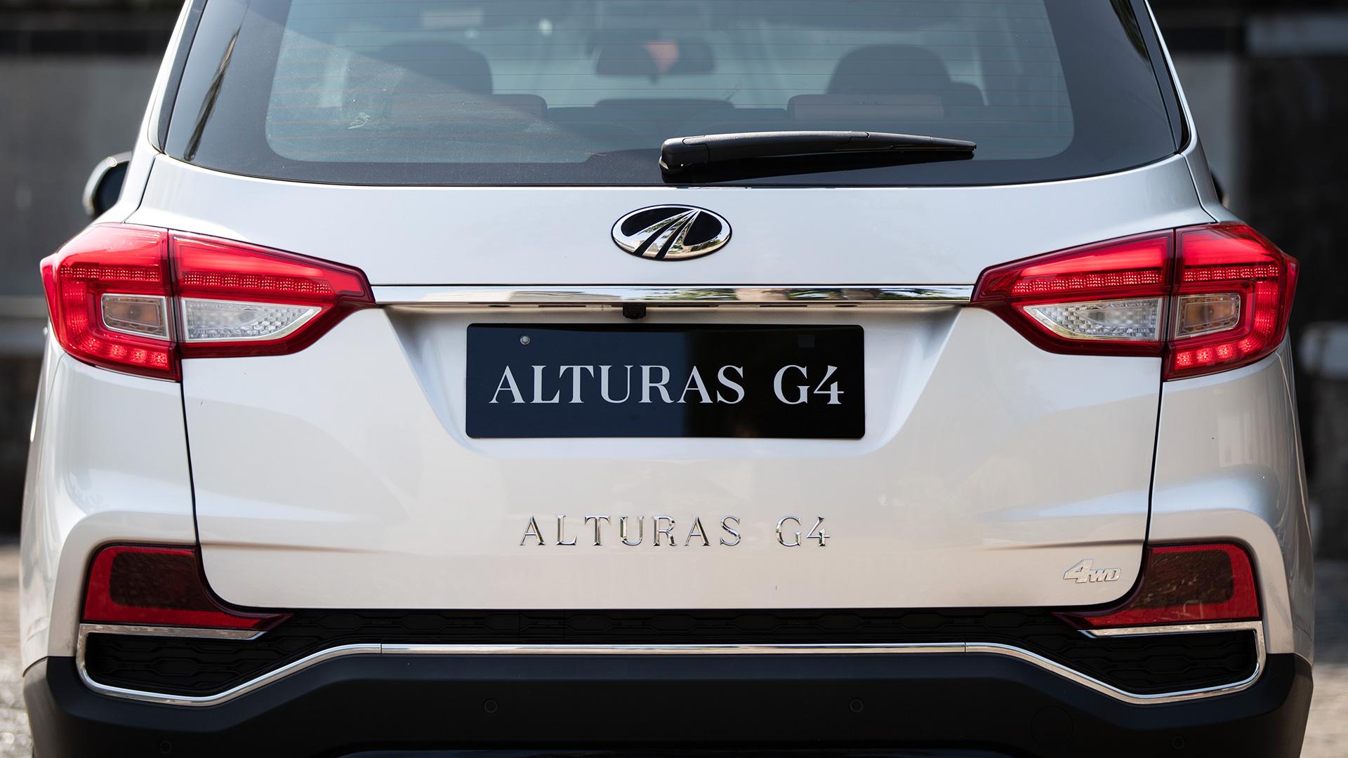Mahindra Alturas G4 2019 2.2L Std Exterior