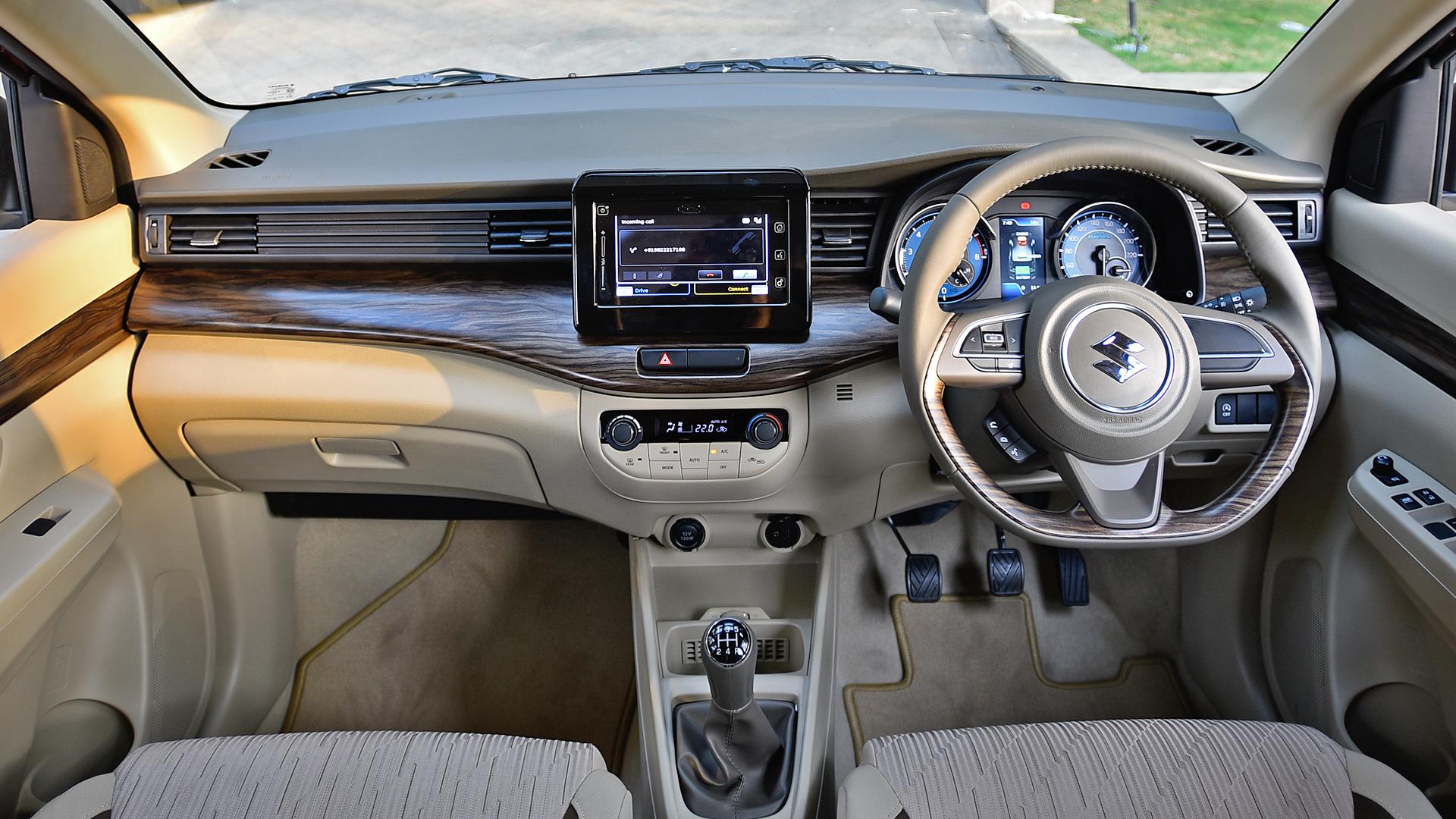 Maruti Suzuki Ertiga 2019 Zxi Plus Interior Car Photos Overdrive