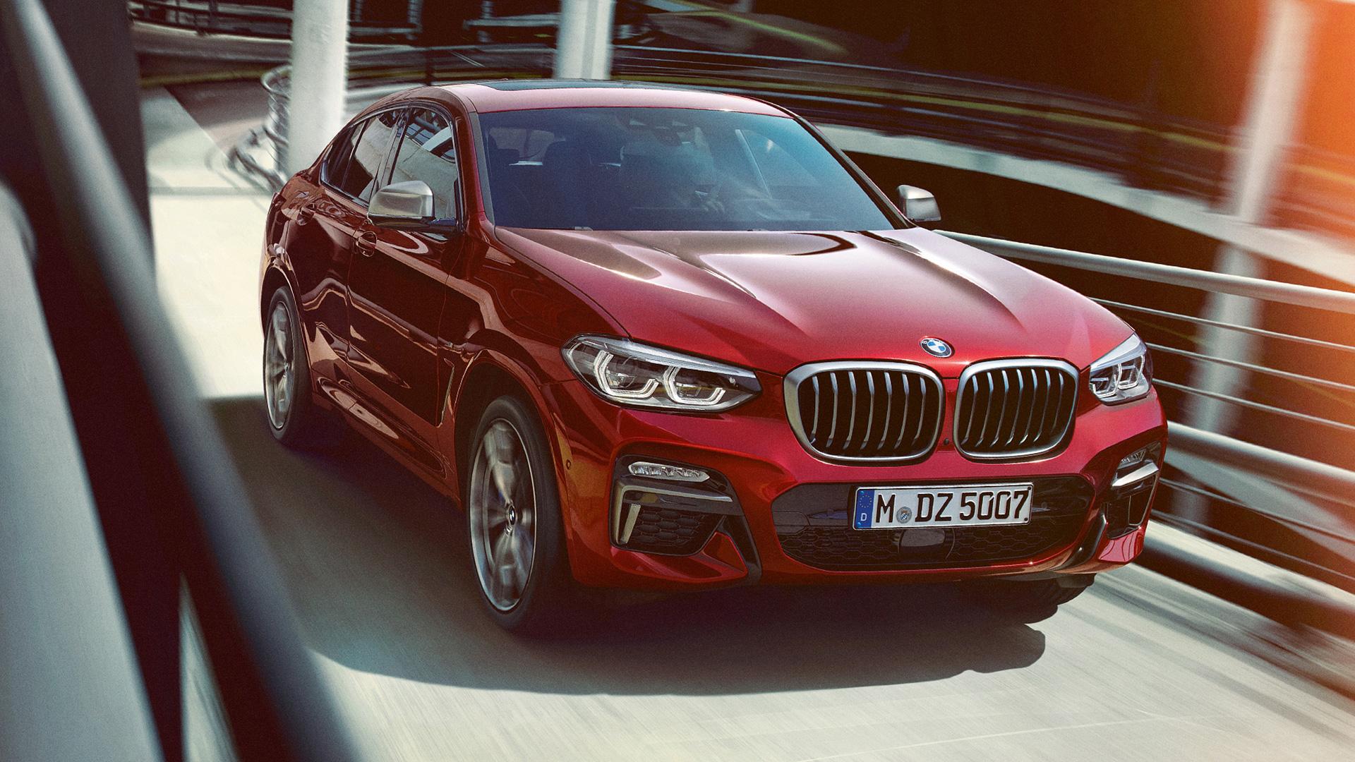 BMW X4 coupe 2019 xDrive30d M Sport X Exterior
