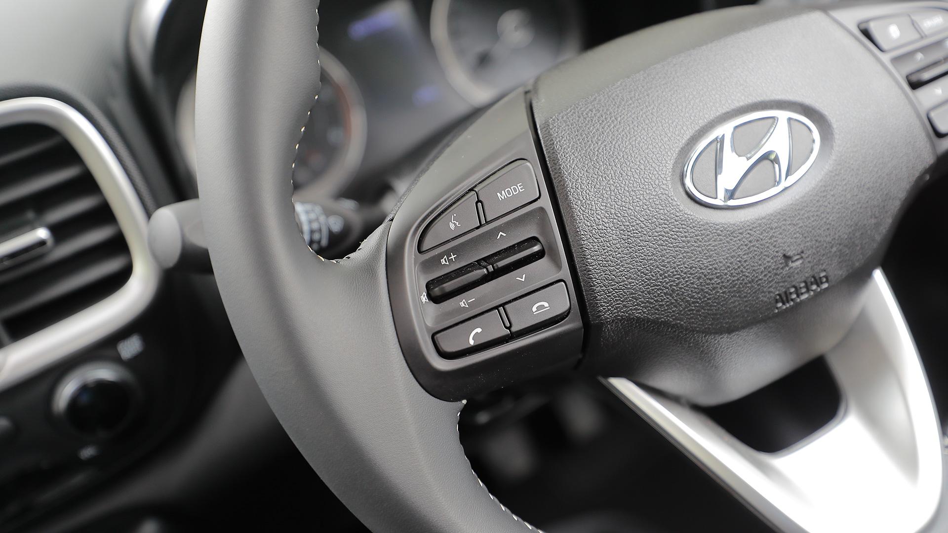 Hyundai Venue 2019 1.4 CRDi MT E Interior