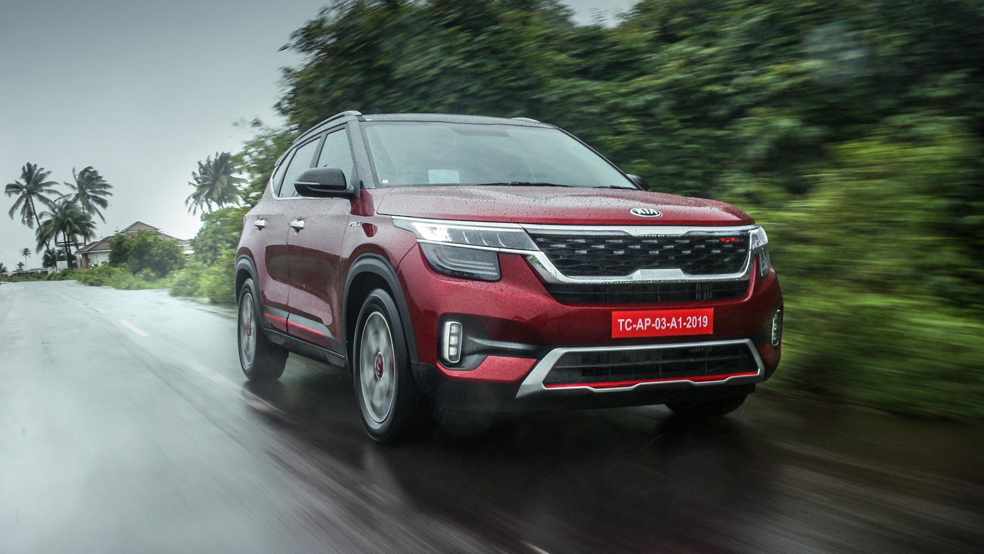 Kia Seltos 2019 1.5 MT Diesel Exterior