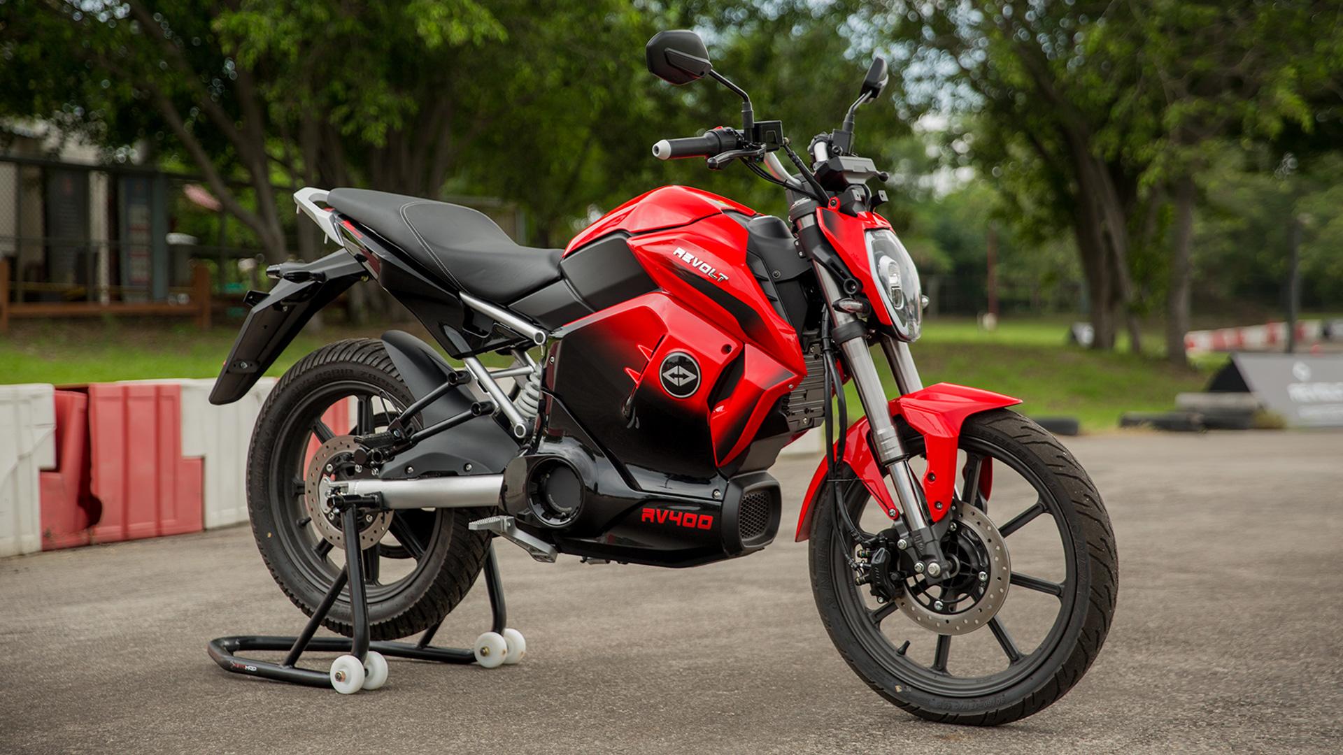 Revolt Motors RV400 2019 Premium Bike Photos - Overdrive