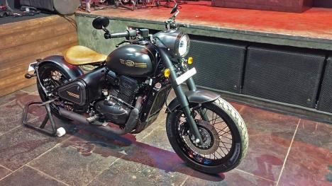 Jawa Motorcycles Perak Bobber