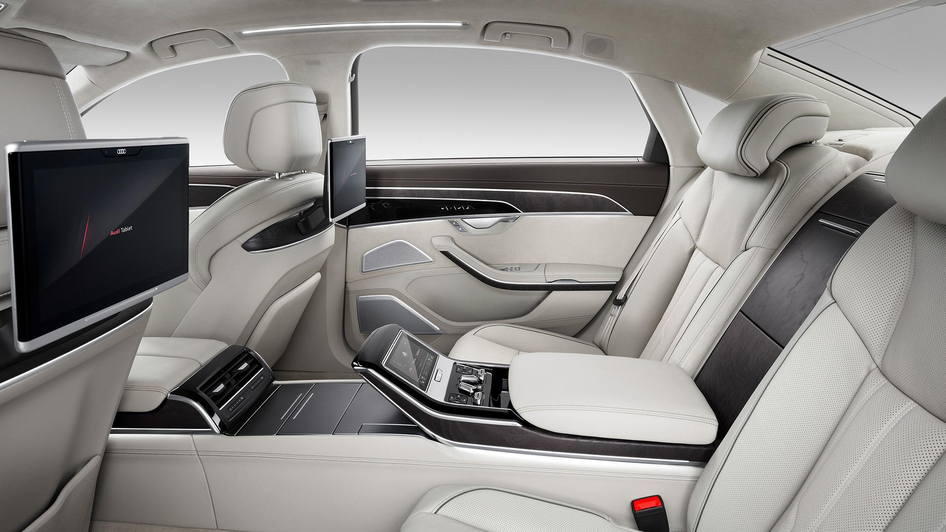 Audi A8l 2020 55 Tfsi Quattro Interior Car Photos Overdrive