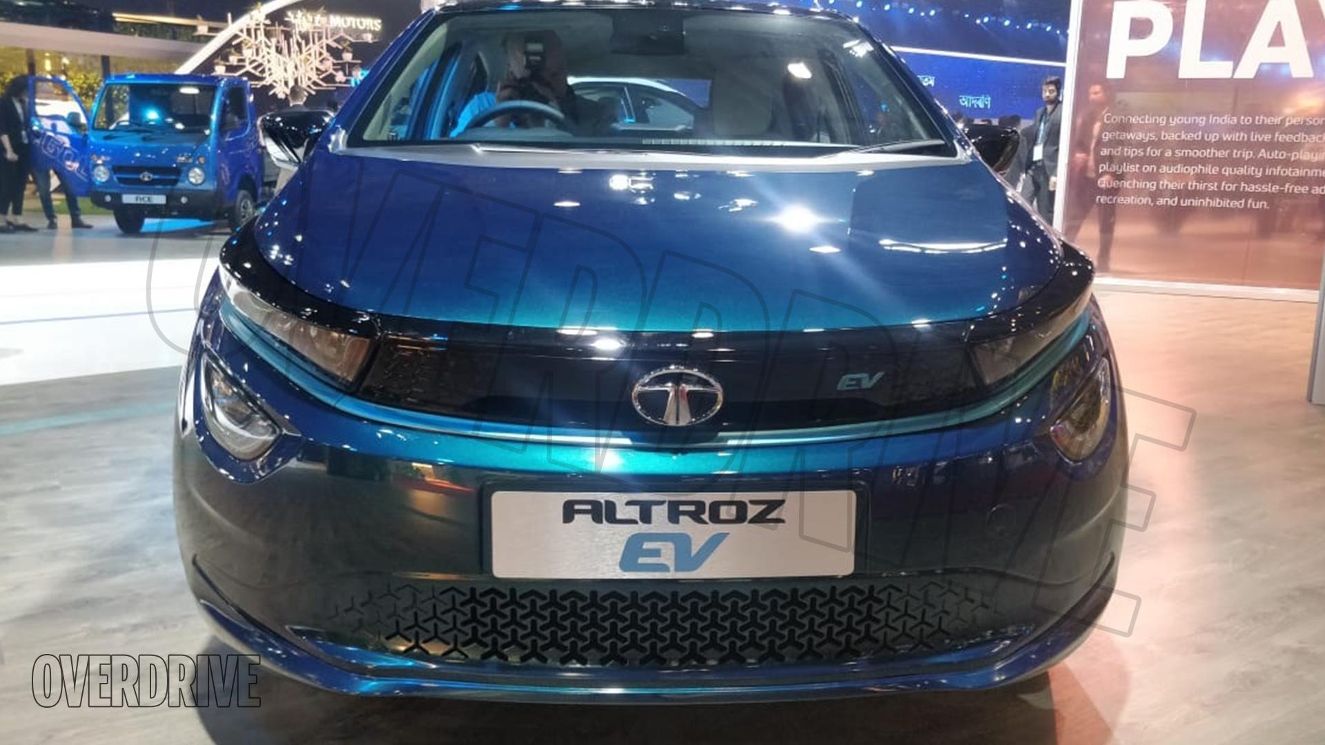 Tata Altroz EV 2020 STD Exterior