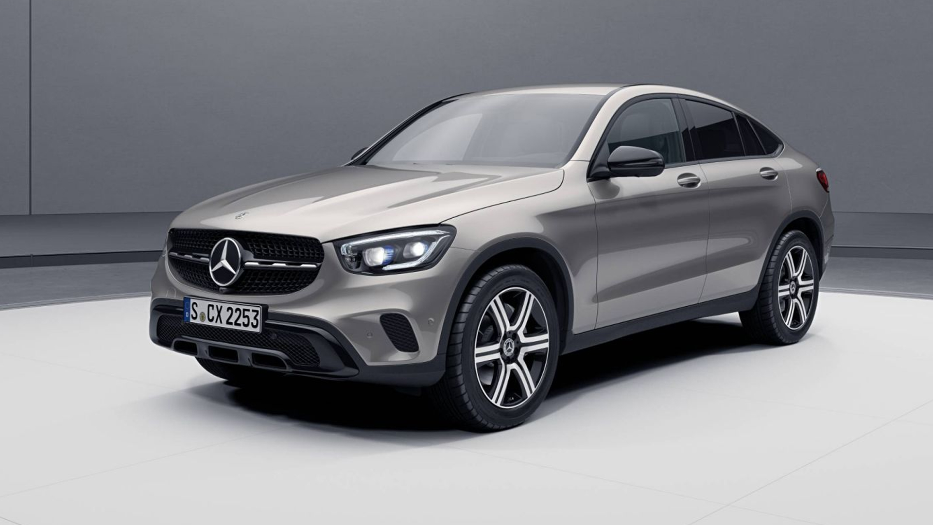Mercedes-Benz GLC Coupe 2020 300d 4MATIC
