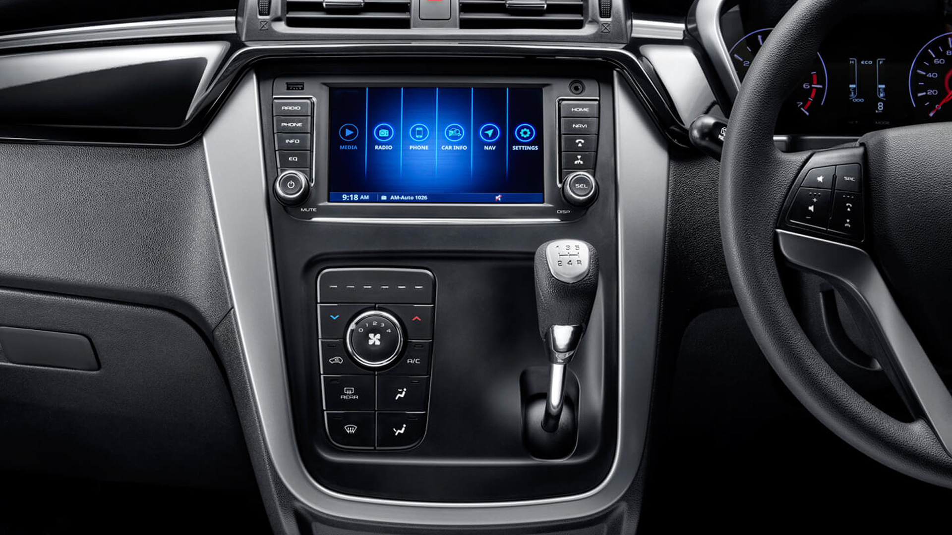 Mahindra KUV 100 nxt 2020 K8 Petrol 6 Str Interior