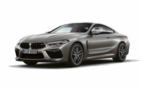 BMW M8 Coupe 2020 STD Exterior