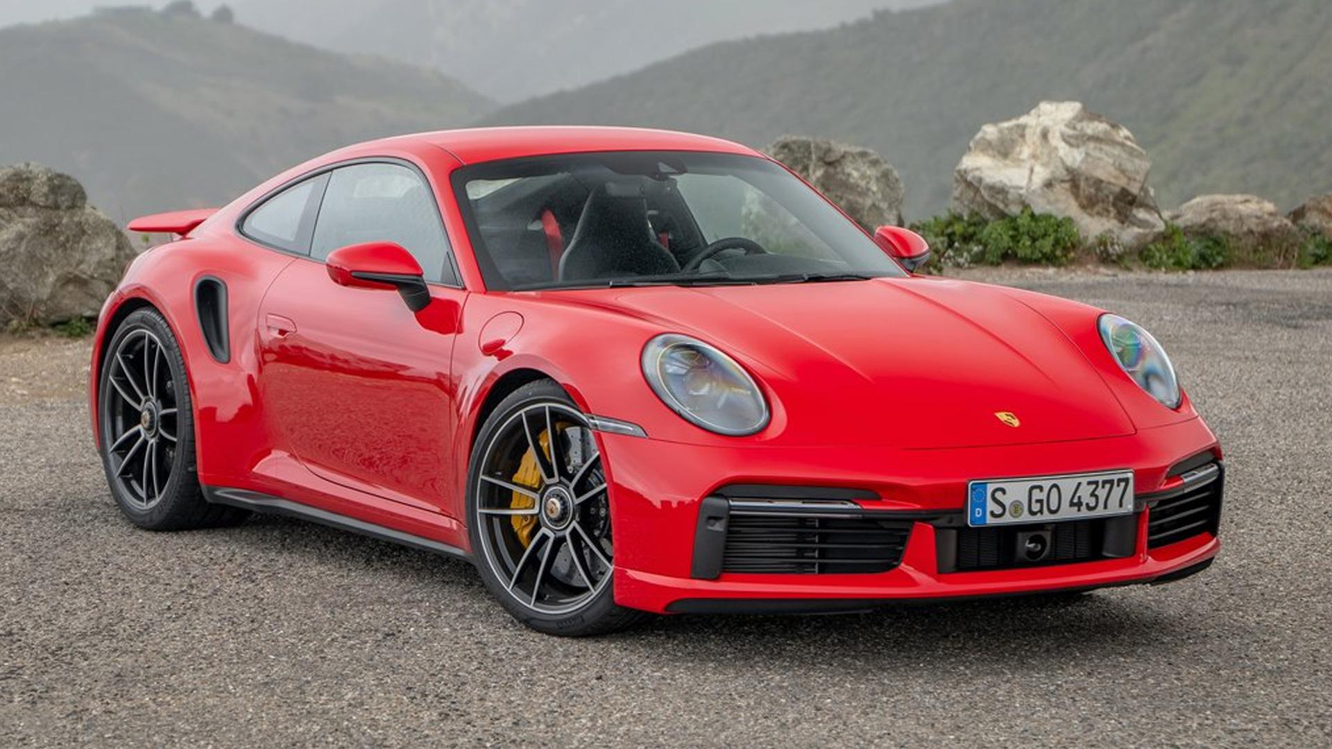 Porsche 911 Turbo 2016 S