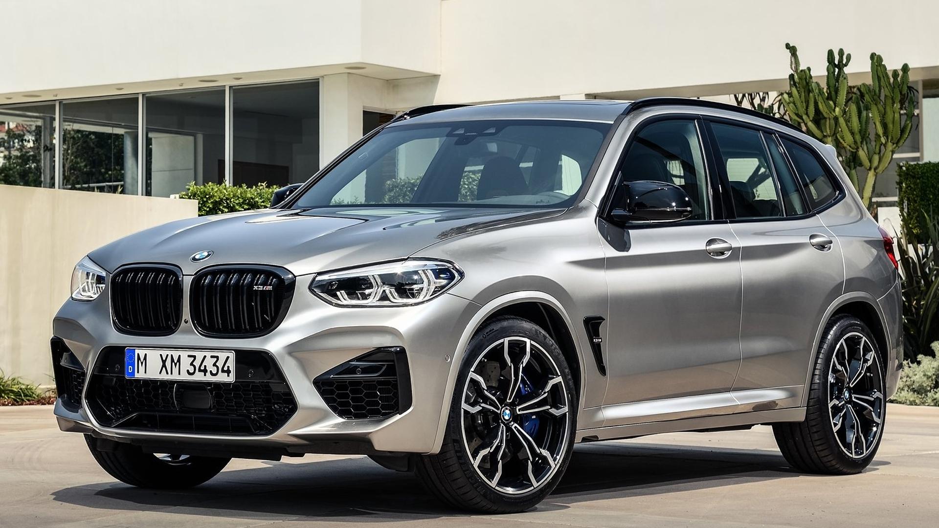 BMW X3 M 2020 Std Exterior