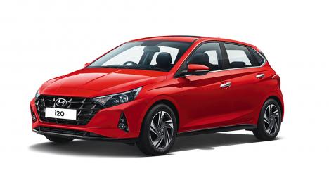 Hyundai i20 2020 1.0 Petrol Turbo Asta 7DCT Exterior