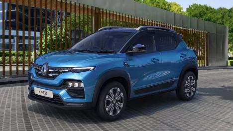 Renault Kiger 2021 1.0 litre turbo petrol Exterior