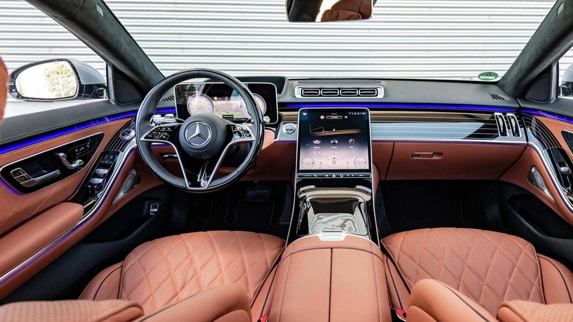 MercedesBenz S-Class 2021 S400d 4MATIC Exterior