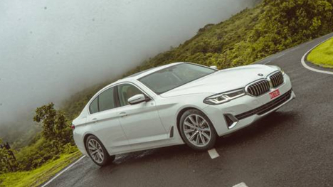 BMW 5 Series 2021 530d M Sport Exterior