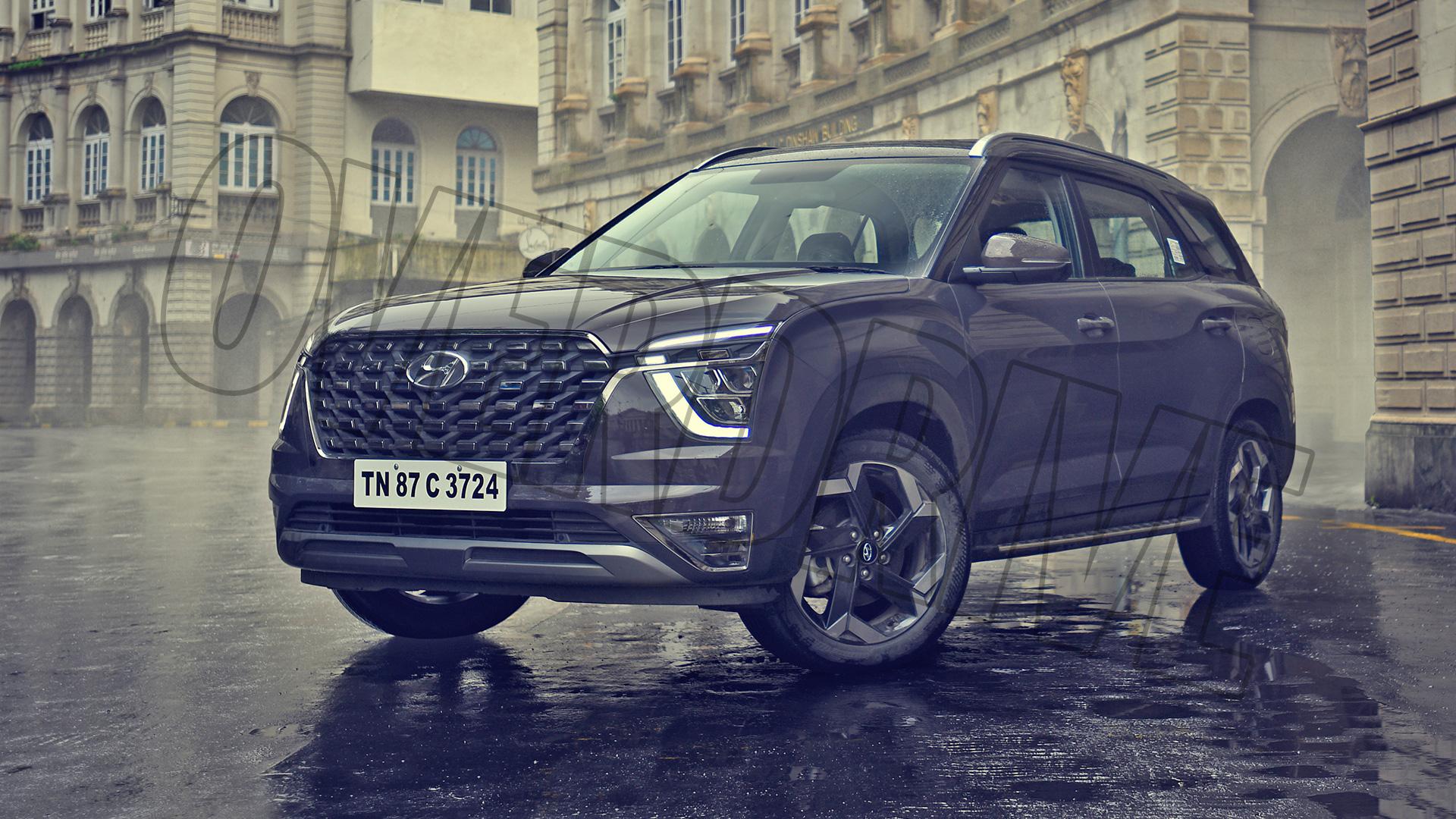 Hyundai Alcazar 2021 1.5 Diesel Exterior
