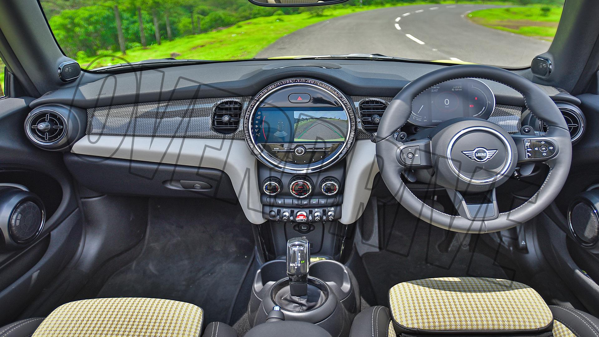 Mini Cooper S 2021 Convertible Interior