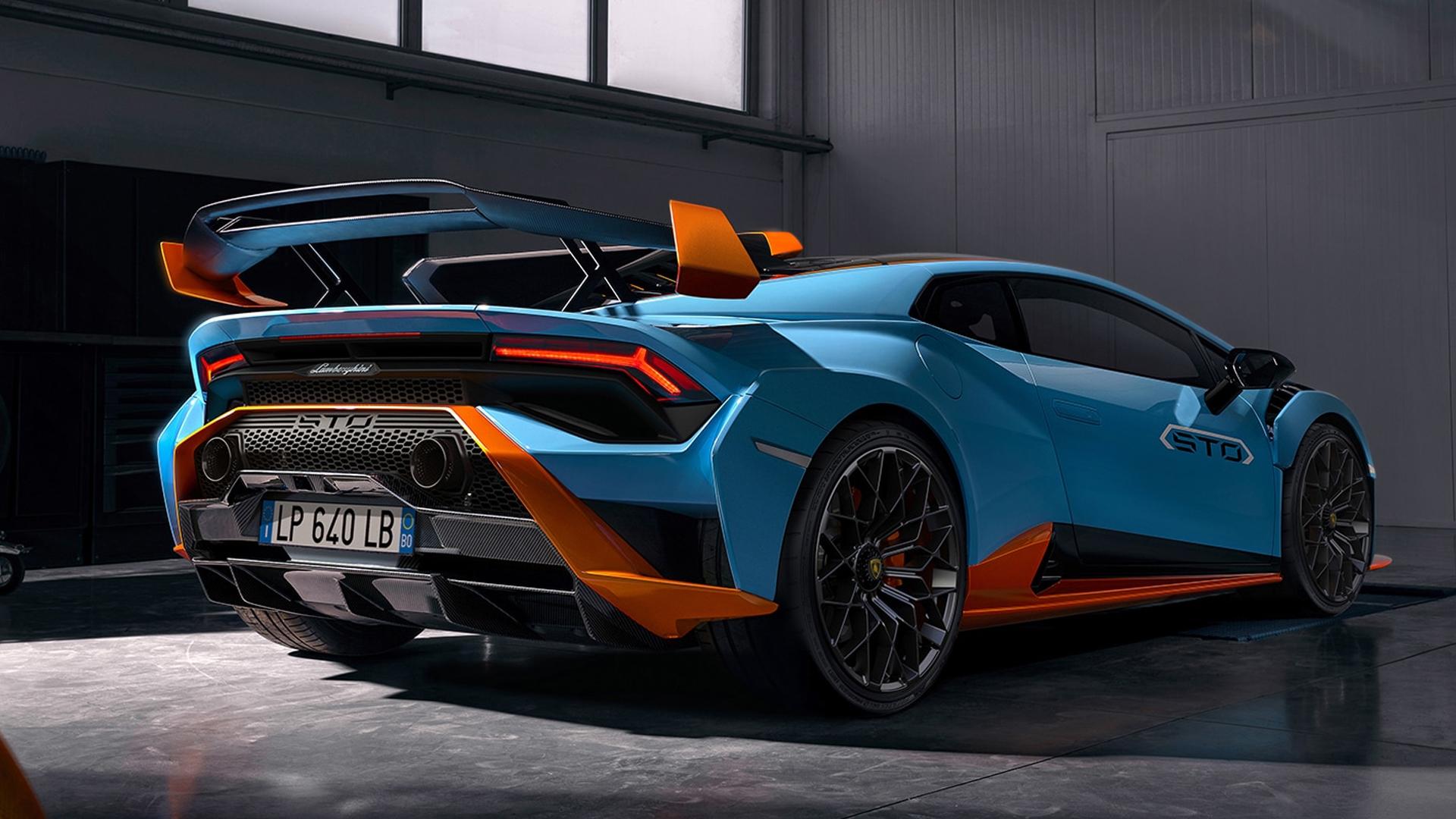 Lamborghini Huracan 2021 STO Exterior